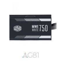 منبع تغذیه کامپیوتر CoolerMaster مدل MWE 750 White